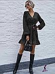 Женское платье, софт, р-р универсальный 42-46; 48-52 (чёрный), фото 2