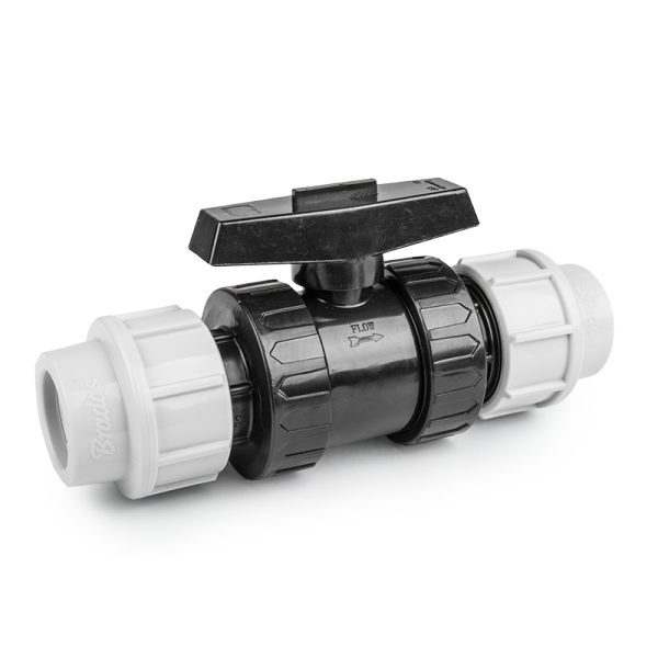 Кран для труб PE, 32мм, PN16, DSRA16V3232