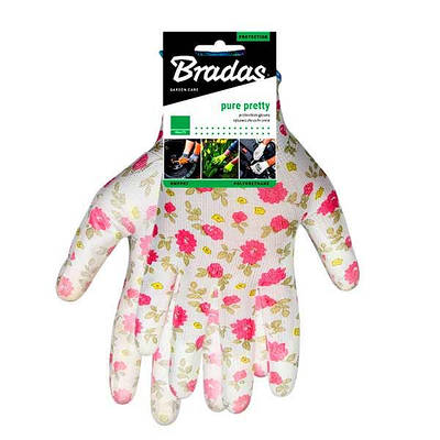 Защитные перчатки, PURE PRETTY, полиуретан, размер  7, RWPPR7