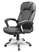 Офисное кресло компьютерное AEGO (Эко-кожа механизм TILT чёрное), фото 1