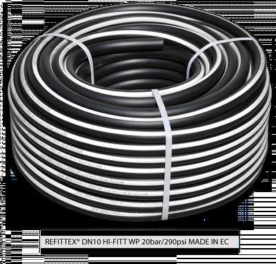 Шланг високого тиску REFITTEX 20 bar 10*2,5 мм, RH20101550