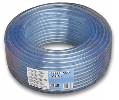 Шланг прозорий игелитовый, CRISTALLO EXTRA, 8*1 мм, IGCE08*10/50