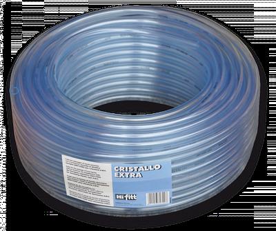 Шланг прозрачный игелитовый CRISTALLO 8*1,5 мм,  IGCE08*11/50