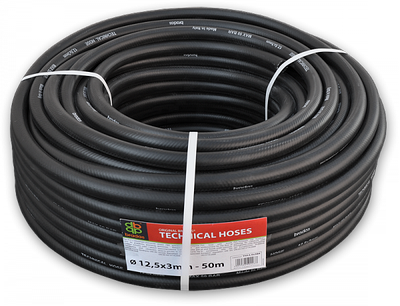 BRADAS Шланг технічний BLACK 12,5 х 3мм, 17 bar, TH12,5*3BK