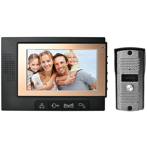 Видеодомофон DP-702 монитор видеонаблюдения