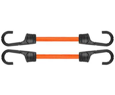 Резиновый шнур с крючками, 2 х 80см, PVC BUNGEE  CORD HOOK, BCH2-08080OR-B