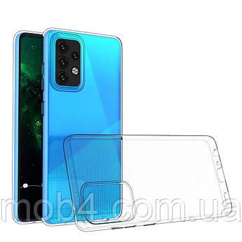 Силіконовий ультратонкий чохол для Samsung Galaxy (Самсунг Гелекси) A52