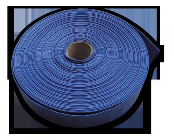 """Шланг AGRO-FLAT W. P. 2, 2"""", 100 м, BLUE, WAF2B200100"""