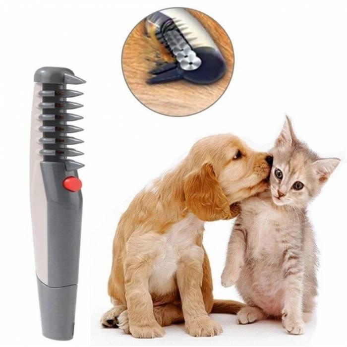 Щіточка для чищення шерсті домашніх тварин