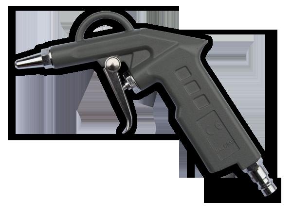 Пистолет пневматический для продувки,  с короткой форсункой 30мм, STG15