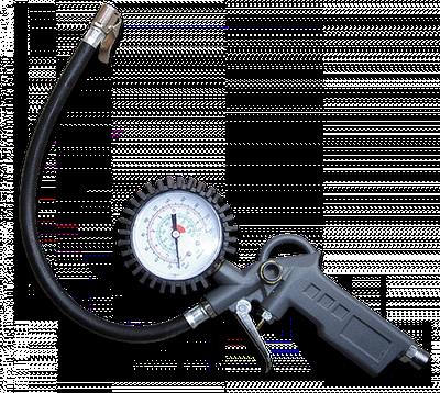 Пистолет для подкачки шин с манометром,  STG05