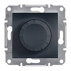 Диммер Schneider-Electric Asfora Plus 40-600W поворотний антрацит (EPH6400171)