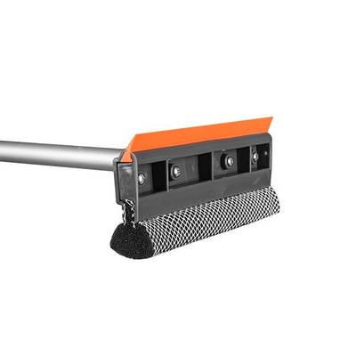 """Скребок для мытья окон 10"""", с телескопической  ручкой 75-120см, ES2111"""