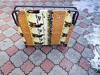 Раскладушка Мария с высоким натяжение ткани, фото 1