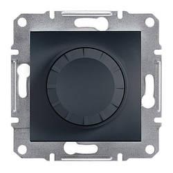 Диммер Schneider-Electric Asfora Plus поворотний 20-315 Вт антрацит (EPH6600171)