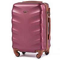 Дорожный чемодан на колесах WINGS 402 Exlusive из поликарбоната ручная кладь, фото 1