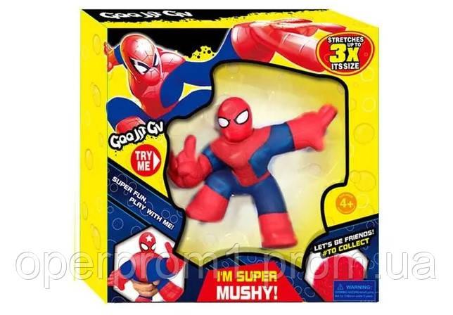 Іграшка «Спайдермен» Goo Jit Zu, тягучка-антистрес
