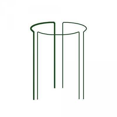 Кольцевая опора для растений, 1/3 круга,  D=40см, H=90см, TYRP34090