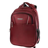 Мужской смарт-рюкзак (3DETAB2020-1) Valiria Fashion 29х39х16 см Бордовый