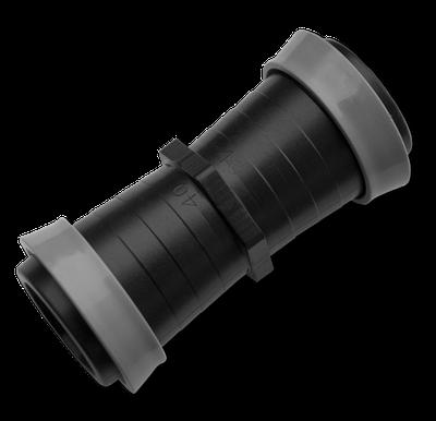 Муфта для ленты оросительной GOLD SPRAY 25 мм,  DSTA17-25L