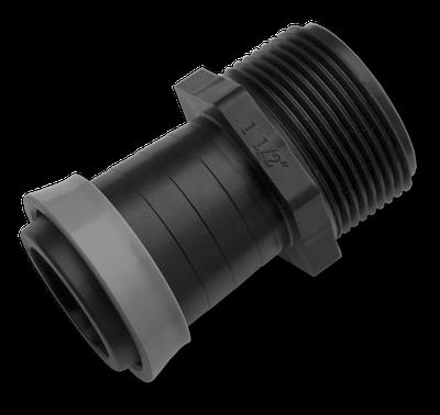 """Адаптер с наружной резьбой 1"""", для ленты  оросительной GOLD SPRAY 32 мм, DSTA16-3210L"""