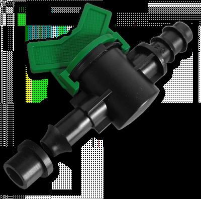 Старт-Коннектор для трубки з прокладкою і миникраном, DSWZ13-16L