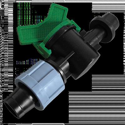 Старт-Коннектор стрічка / трубка з прокладкою і миникраном, DSTZ03-1708L