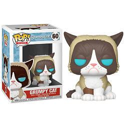 Фігурка Funko Pop Мем-кіт Grumpy Cat 6см FP GC 60