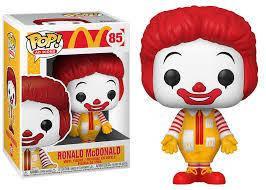Фігурка Funko Pop Рональд Макдональд Ronald McDonald 10см RMD 85