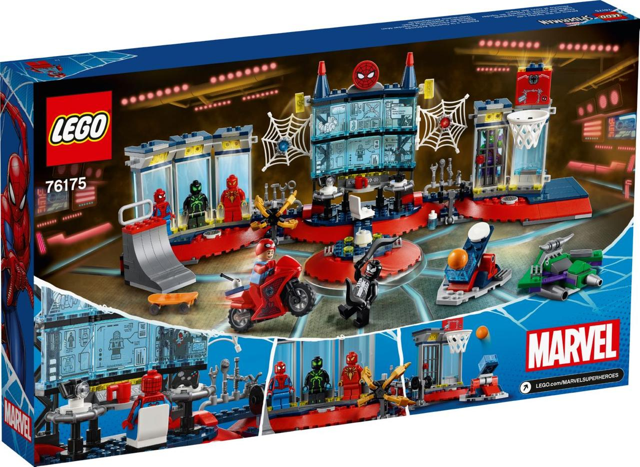 Lego Super Heroes Нападение на мастерскую паука 76175