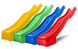 Детская горка игровая пластиковая HAPRO 3м (горка спуск, горка волна)
