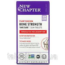 """New Chapter, """"Прочность костей, будь осторожен"""", пищевая добавка для поддержания прочности костей, 180"""