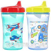 NUK, First Essentials, Hard Spout Cup, 12+ Months, 2 Cups, 10 oz (300 ml) Each