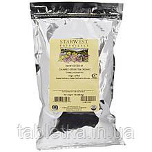 Starwest Botanicals, Органический зеленый чай Чунмее, 1 фунт (453,6 г)