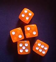 Кубик кости игральные для нард 14 ММ