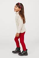 Дитячі вельветові штани трегінси H&M на зріст 116 см (на 5-6 років)