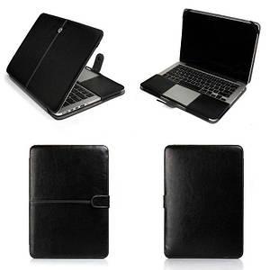 """Чохол накладка DDC PU Leather для MacBook 12"""" black"""