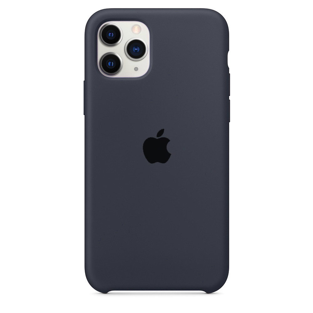 Чохол накладка xCase для iPhone 11 Pro Silicone Case темно-сірий