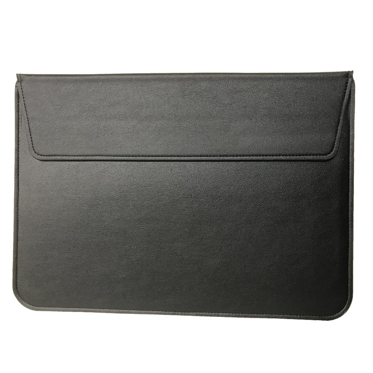 """Папка-конверт PU sleeve bag для MacBook 15"""" black"""
