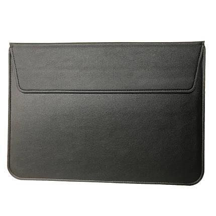 """Папка-конверт PU sleeve bag для MacBook 15"""" black, фото 2"""