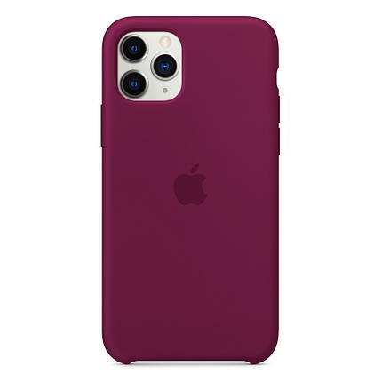 Чохол накладка xCase для iPhone 11 Pro Max Silicone Case rose red, фото 2