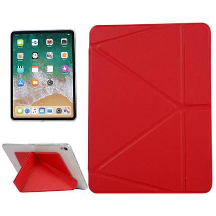 "Чехол Origami Case для iPad Pro 11"" (2020) Leather embossing red, фото 2"
