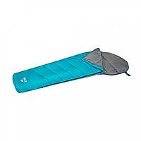 BW Спальный мешок 68102, одноместный, на молнии , в чехле ( 68102(Light-Blue) 220-75-50см, наполнитель  hollow