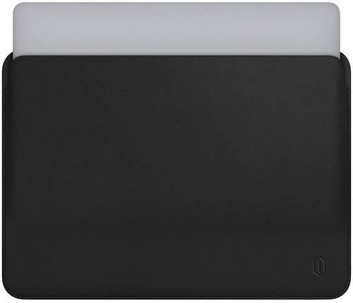 "Папка-конверт Wiwu Skin Pro Leather для MacBook Air 13,3"" black, фото 2"
