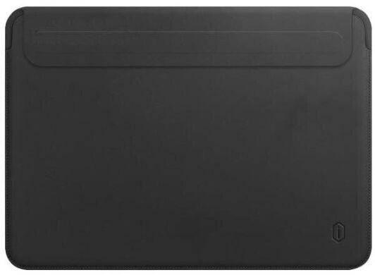 Папка конверт Wiwu Skin Pro2 Leather для MacBook 16'' black, фото 2