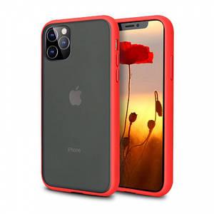 Чохол накладка xCase для iPhone 12/12 Pro Gingle series red