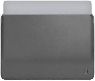 Папка конверт Wiwu Skin Pro Leather для MacBook 15'' gray
