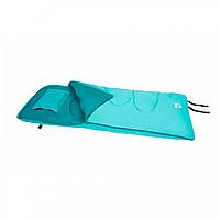 BW Спальный мешок 68101 , односпальный , на  молнии ( 68101(Light-Blue) 205-90см, наполнитель  hollow fibre