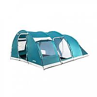 Кемпинговая палатка модели Family Dome, шестиместная, с навесом, водонепроницаемая