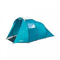 BW Палатка 68092 , четырьехместная , с навесом, водонепроницаемая